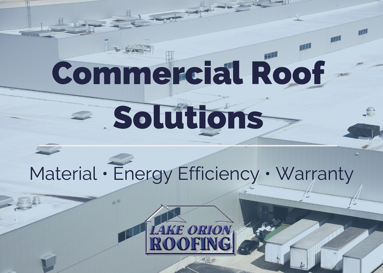 How to Choose Your Commercial Roof